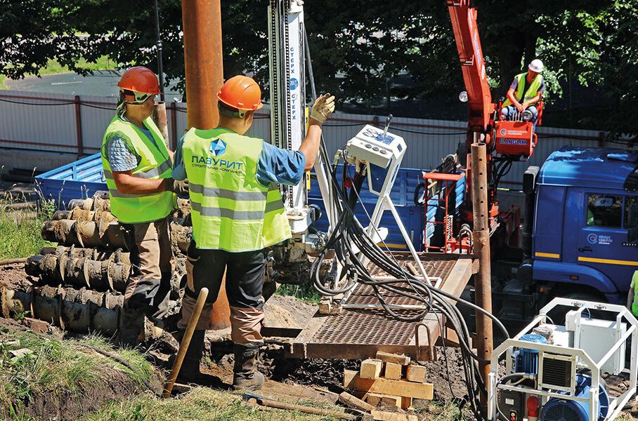 Работы по коммуникациям и инженерным сетям - строительная компания «Лазурит»
